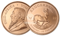 KRUGERRAND D'ORO SUD AFRICA Un'Oncia